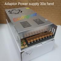Power Supply power suply 30A 12V Adaptor Central 12V/ 30A Jaring