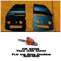 Plat Kap Bar Mesin Chainsaw Sinso Senso 5200 5500 5800 1 Set 2pcs