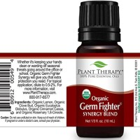 Plant Therapy Germ Fighter Organic Synergy Essential Oil 10 mL (1/3 oz