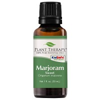Plant Therapy Marjoram Sweet Essential Oil 100% Pure, Undiluted, Natur