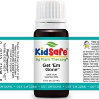 Plant Therapy KidSafe Get 'Em Gone Synergy Essential Oil 10 mL (1/3 oz