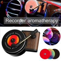 Car Fragrance Diffuser Vent Clip Air Vent Fragrance Vintage Record