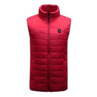 Red Unisex USB Heating Vest Smart Winter Body Warmer Uniq St