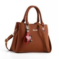 READY STOK JT0066-brown Tas Selempang Wanita Cantik Elegan Import