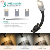 Lampu Baca Fleksibel Dapat Dicharge dengan USB untuk Membaca Buku