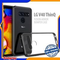 LG V40 ThinQ - ORIGINAL Fusion Armor Bumper Case Cover Casing