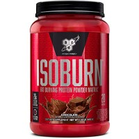 BSN ISOBURN, Lean Whey Protein Powder, Fat Burner for Weight Loss with