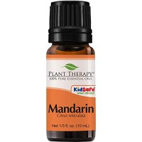 Plant Therapy Mandarin Essential Oil 10 mL (1/3 oz) 100% Pure, Undilut