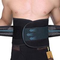UTRAX 30''-37waistline Velcro Adjustable Weight Loss Slimming Belt Wa