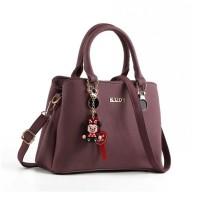 READY STOK JT0066-purple Tas Selempang Wanita Cantik Elegan Import