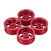 4PCS Wltoys K969 K979 K989 1/28 Metal Wheel Rims Hubs RC Rare MP