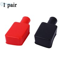 Fireproof Heat Insulation Connector Automobiles Rubber Protector 2pcs