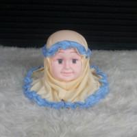 Jilbab Bayi//Kerudung Bayi Krem