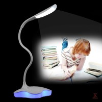 Reading Desk Lamp Book Light Dimmable Flexible USB Rechargeable