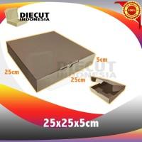 kardus box pizza karton diecut uk 25x25x5