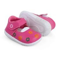 LS04 sepatu anak bayi perempuan trendy murah lembut model casual