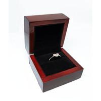 Jewelry Box / Kotak Perhiasan Kayu Mewah / Cincin, Liontin, Anting - Cincin Bantalan