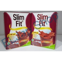 Susu Slim and Fit by Kalbe Rasa Choco Malt Isi 312gr (6 Sachet)