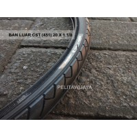 Ban Luar Sepeda Lipat 451 22 20 x 1 1per8 Ecosmo Noris Dahon Tern