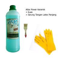 Paket ATTAR Power KERAMIK WC / Toilet 1 Liter + Sarung Tangan Panjang