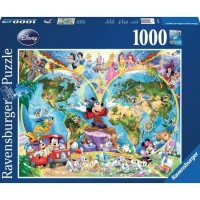 RAVENSBURGER - MAGICAL WORLD GLOBE PUZZLE 1000 PCS