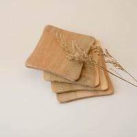 TANAKA Tatakan Gelas Kayu | Wooden Coaster | Souvenir unik kayu murah