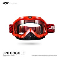 JPX Cross Goggle - Red Gloss / Clear