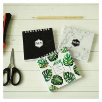 Custom Notes 10x10 cm Notebook Blocknote Softcover Spiral Ukuran Kotak