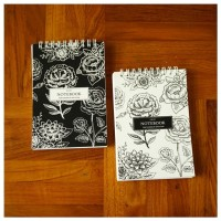 Custom Notes A6 Notebook Blocknote Softcover Spiral Persegi Panjang