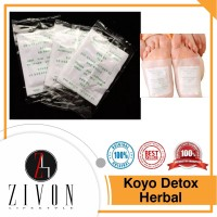 PROMO Koyo Kaki Detox Herbal Foot Patch Detoksifikasi Mirip Kinoki PF3