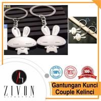 Gantungan Kunci Couple Kelinci KeyChain XXH27
