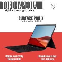 Microsoft Surface Pro X 8GB 256GB Black Garansi Resmi