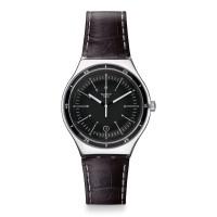 Jam Tangan Unisex Swatch Irony Trueville Black Dial YWS400
