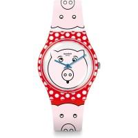 Jam Tangan Wanita Swatch Petit Cochon White Piggy Dial GR169