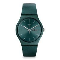Jam Tangan Unisex Swatch Ashbayang Green Dial Green Strap SUOG709