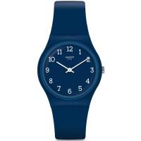Jam Tangan Unisex Swatch Blueway Blue Dial Blue Rubber GN252