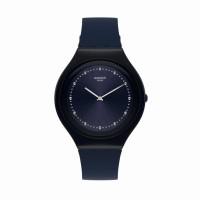Jam Tangan Unisex Swatch Skin Skinsparks Blue Navy SVUN100