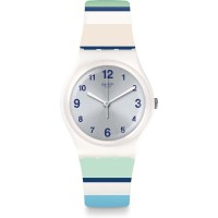 Jam Tangan Unisex Swatch Marinai Grey Dial Multicolour GW189