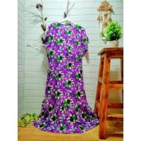 Long Dress Daster Busui Rayon Serut