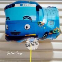 Balon Karakter Tayo biru / Balon Foil Tayo / Balon Foil Karakter Tayo