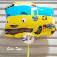 Balon Karakter Tayo kuning Balon Foil Tayo / Balon Foil Karakter Tayo