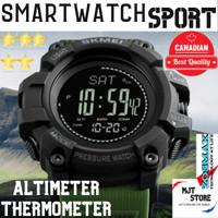 SKMEI Altimeter Original Jam Tangan Pria Outdoor Sport Anti Air 1358 - Biru