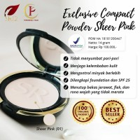 Exclusive compact powder SR12 herbal skincare kosmetik bedak padat ori
