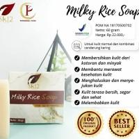 milky rice herbal soap SR12 skincare kosmetik sabun muka beras susu