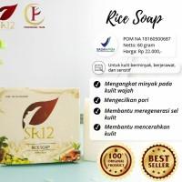 Rice herbal soap SR12 skincare kosmetik sabun beras wajah 100%original