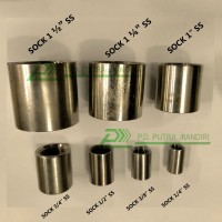 """SOCK 1/4"""" x 1/4"""" - STAINLESS (Adaptor / Reducer)"""