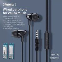 Remax Wired Earphone RW-106 Original