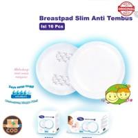 Baby Safe Breast Pad Slim Daya Serap 70 ml Penyerap Asi Menetes 16 Pc