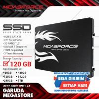 SSD-Solid State Drive Midasforce 120GB SUPER LIGHTNING SATA III-6GB/S