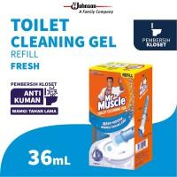 Mr. Muscle Toilet Cleaning Gel Fresh Refill 36mL